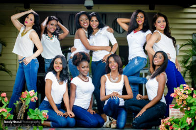Miss Tropical Beauties Surinam 2015